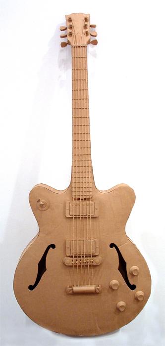 Своими руками гитару из подручных материалов 48