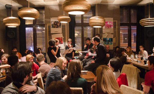 L'Atelier Cafe - tekturowa restauracja