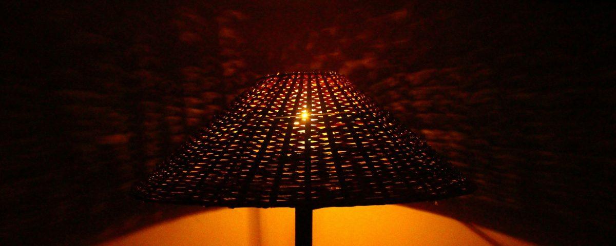 Tekturowe lampy