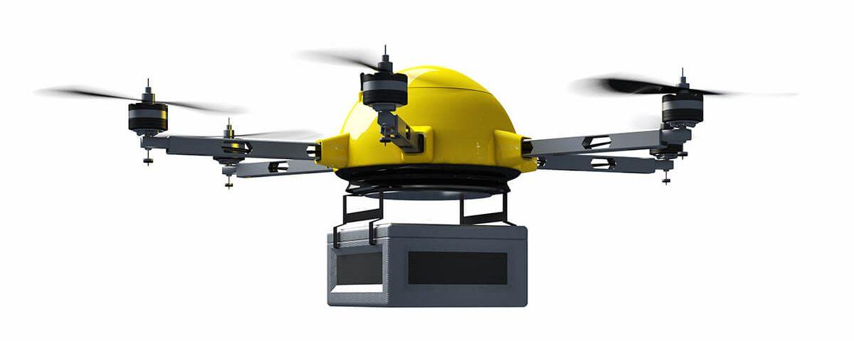 Drony kurierskie - gołębie pocztowe XXI wieku